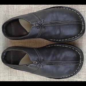 Women's Dockers Mules Clog Leather Slip On Size 6